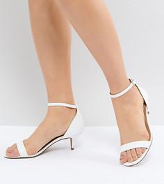 Босоножки на каблуке ASOS DESIGN - Белый
