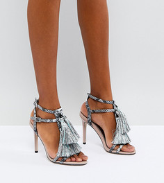 Босоножки на каблуке ASOS HEY MAMA - Мульти