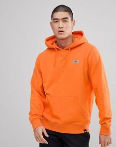 Худи оранжевого цвета со светоотражающим логотипом Dickies Progresso - Оранжевый