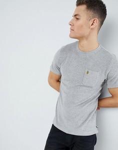 Серая махровая футболка с круглым вырезом Luke Sport Home 2 - Серый