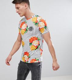 Обтягивающая футболка Hype эксклюзивно для ASOS - Белый