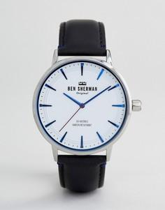 Часы с кожаным ремешком Ben Sherman WB020B - Черный
