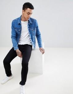 Джинсовая куртка с эффектом кислотной стирки Levis - Синий Levis®