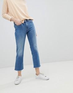 Прямые джинсы с необработанными краями Only - Синий