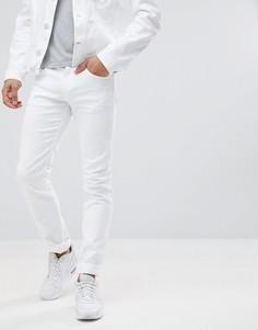 Белые джинсы скинни Versace Jeans - Белый