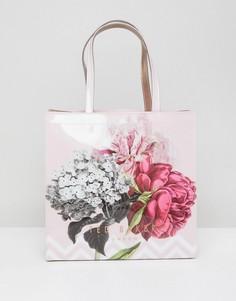 Большая сумка с цветочным принтом Ted Baker - Мульти