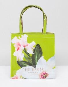 Маленькая сумка с цветочным принтом Ted Baker - Зеленый