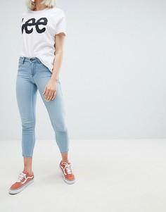 Укороченные джинсы Lee Scarlett - Синий