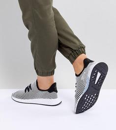 Черно-серые кроссовки adidas Originals Deerupt Runner - Черный