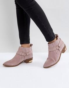 Замшевые ботинки в стиле вестерн Office Atlas - Розовый