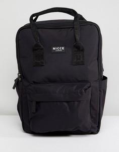 Черный рюкзак в стиле ретро Nicce London - Черный