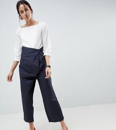 Повседневные брюки с поясом ASOS DESIGN - Бесцветный