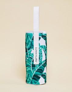 Сумка-холодильник для бутылки с пальмовым принтом Sunnylife - Мульти