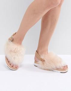 Бежевые сандалии UGG Holly - Бежевый