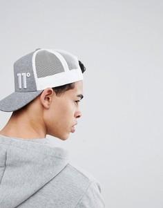 Серая кепка 11 Degrees - Серый