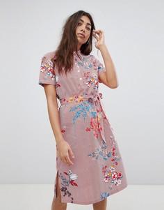Платье-рубашка с цветочным принтом Noisy May - Мульти