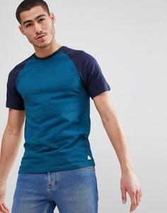 Темно-синяя футболка с рукавами реглан Jack Wills Verwood - Темно-синий