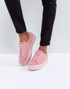 Розовые замшевые кроссовки Vagabond Jessie - Розовый