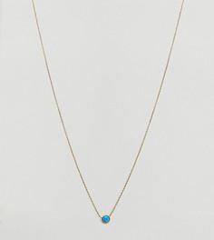 Позолоченное ожерелье с опалом Orelia - Золотой