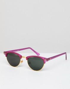 Розовые солнцезащитные очки в стиле ретро Reclaimed Vintage Inspired эксклюзивно для ASOS - Розовый