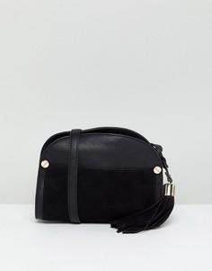 Маленькая сумка через плечо Forever New - Черный