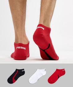 3 пары красных спортивных носков Puma 201203001852 - Красный