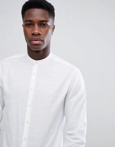 Белая рубашка с воротником в восточном стиле Lindbergh - Белый