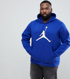 Худи синего цвета Nike Jordan PLUS Flight AH4507-455 - Синий