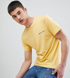 Желтая футболка с логотипом Nicce London TALL эксклюзивно для ASOS - Желтый