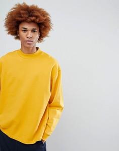 Желтый оверсайз-свитшот ASOS - Желтый