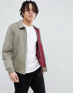 Светло-бежевая куртка Харрингтон ASOS DESIGN - Светло-бежевый
