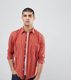 Рубашка в полоску Nudie Jeans Co Sten - Красный