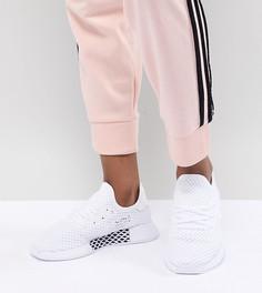 Белые кроссовки adidas Originals Deerupt - Белый