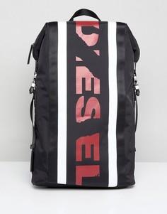 Рюкзак с логотипом Diesel - Черный