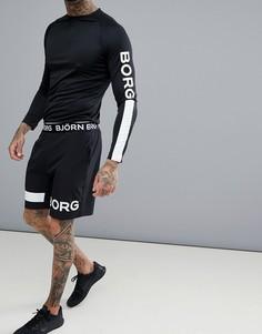 Шорты из растягивающейся в 4 направлениях ткани Bjorn Borg Performance - Черный