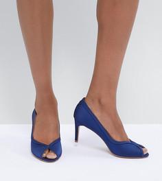 Туфли на каблуке ASOS DESIGN Summer - Темно-синий