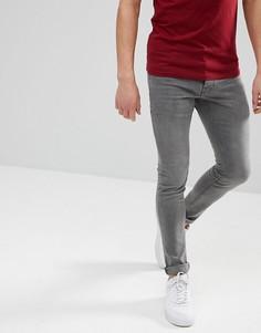 Серые джинсы скинни Solid - Серый