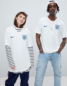 Белая рубашка Nike Football England Home Stadium 893868-100 - Белый