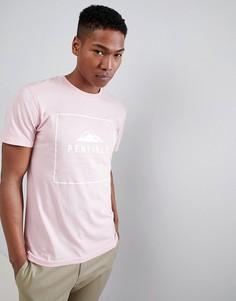 Розовая футболка Penfield Alcala - Розовый