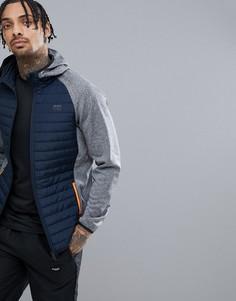 Стеганая куртка Jack & Jones Tech - Серый