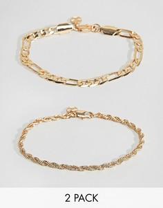Золотистый браслет Chained & Able Majesty - Золотой