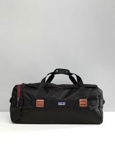 Черная сумка дафл вместимостью 60 л Patagonia Arbor - Черный