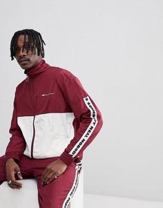 Спортивная куртка с отделкой лентой Wood Wood Homer - Красный
