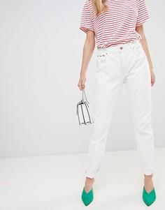 Джинсы в винтажном стиле с завышенной талией Pepe Jeans Violet - Белый