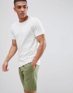 Хлопковая футболка Calvin Klein - Бежевый