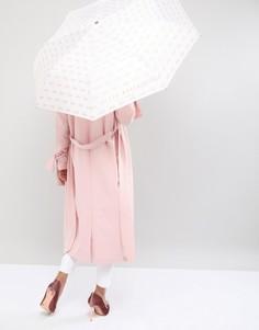 Зонт с принтом бантов Ted Baker - Розовый