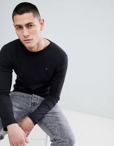 Черный лонгслив Tommy Jeans - Черный