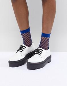 Туфли на массивной подошве ASOS DESIGN Menace - Белый