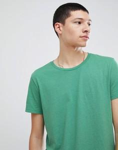 Футболка Weekday Alex - Зеленый