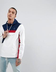 Белая спортивная куртка с молнией до груди Reebok CE5073 - Белый